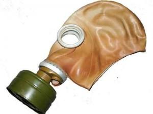 Sicherheitshalber nur mit Atemschutz!