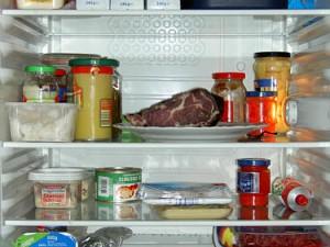 Prall gefüllt, aber mittels Passwort geschützt - Der Kühlschrank von Bernd B.