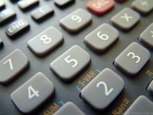 Ebenfalls auf dem Prüfstand - Die Tastaturbelegung eines Taschenrechners